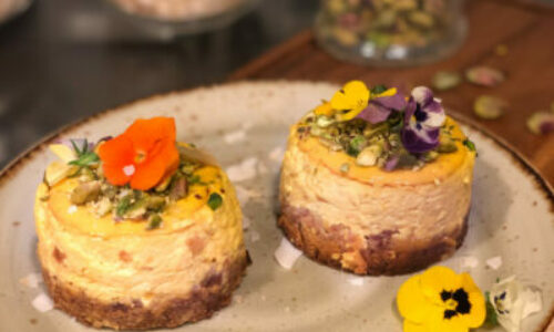 Recipe: Labneh cheesecake