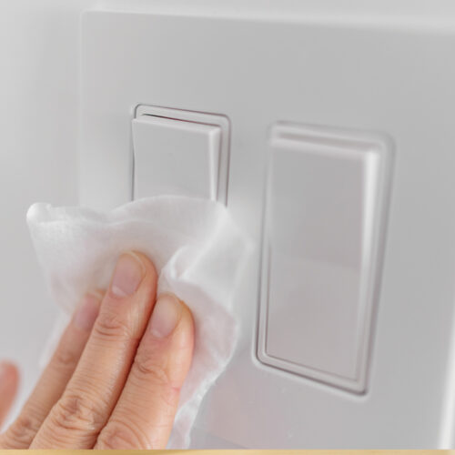 Bacteria Hidden on Light Switches & Handles