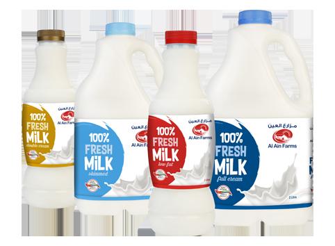 AL Ain Farms fresh local milk