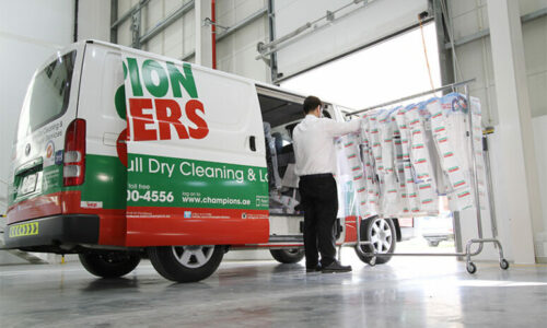 WIN! A AED 500 voucher for Champion Cleaners 5-star services