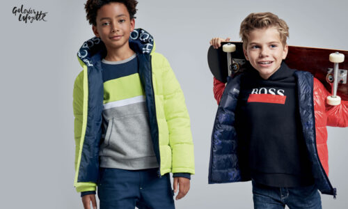 BOSS Kidswear FW20 at Galeries Lafayette: For every little boss!