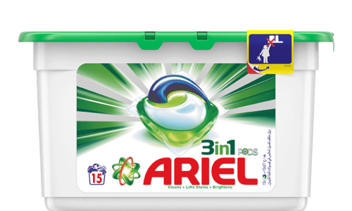 WIN! A YEAR'S WORTH OF ARIEL 3IN1 PODS