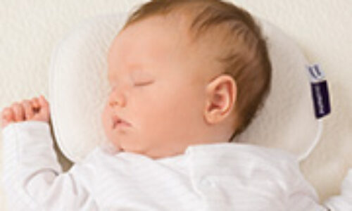 Baby pillows to help your child's development