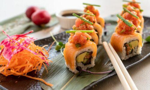 Nassau Dubai new sushi menu by celebrity Chef Silvena Rowe