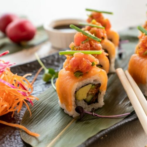 Nassau Dubai new sushi menu by celebrity Chef Silvena Rowe