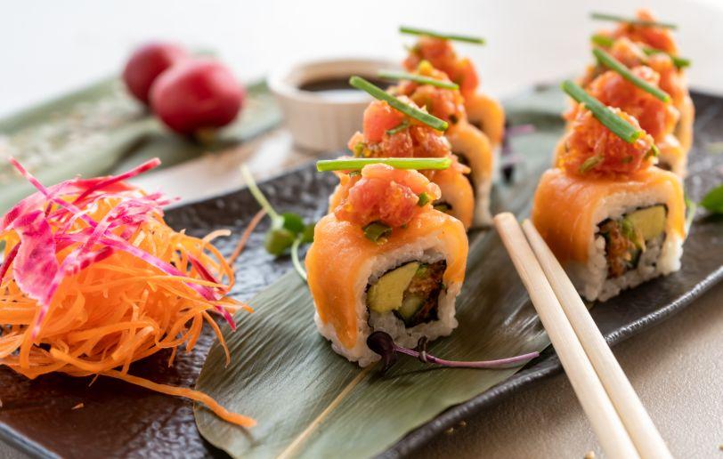 Nassau Dubai new sushi menu