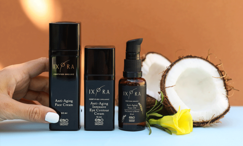 WIN! PREMIUM ORGANIC BEAUTY SKINCARE PRODUCTS FROM IXORA, WORTH AED 500