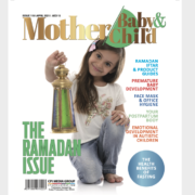 Whats's in the April issue of Mother Baby & Child?