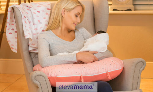WIN! A ClevaMama ClevaCushion Nursing Pillow & Baby Nest worth AED 300