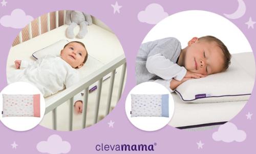 WIN! A ClevaMama Baby & Toddler Pillow Set