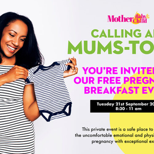 PREGNANT MUMS! You're invited to our free breakfast event on 21st Sept
