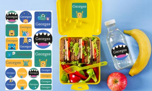 Mum's School Checklist: Order the iron-on labels!
