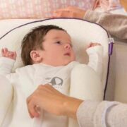 Ease Baby Reflux with ClevaMama's ClevaSleep Elevated Positioner